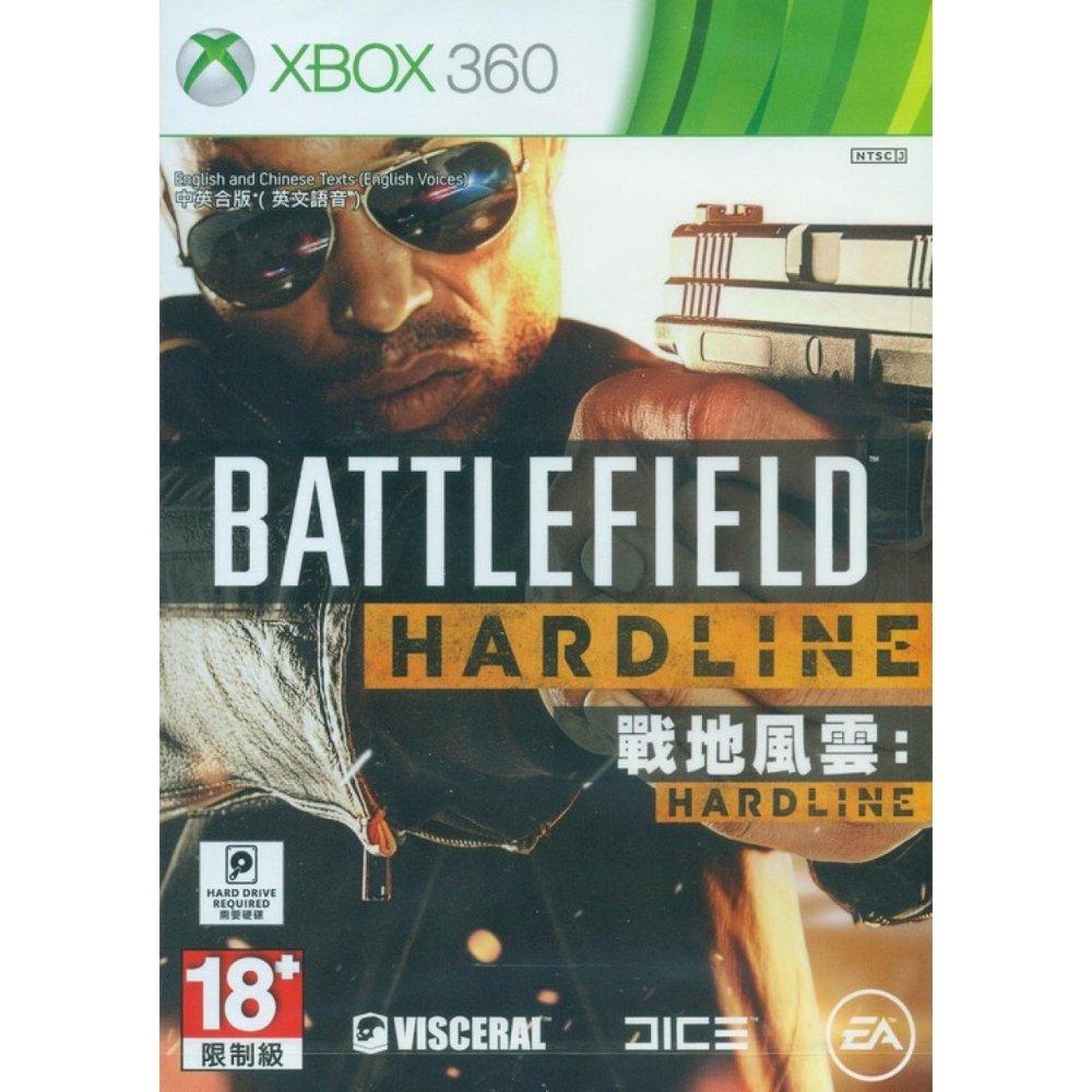 XBox 360 Battlefield Hardline / Normal Edition