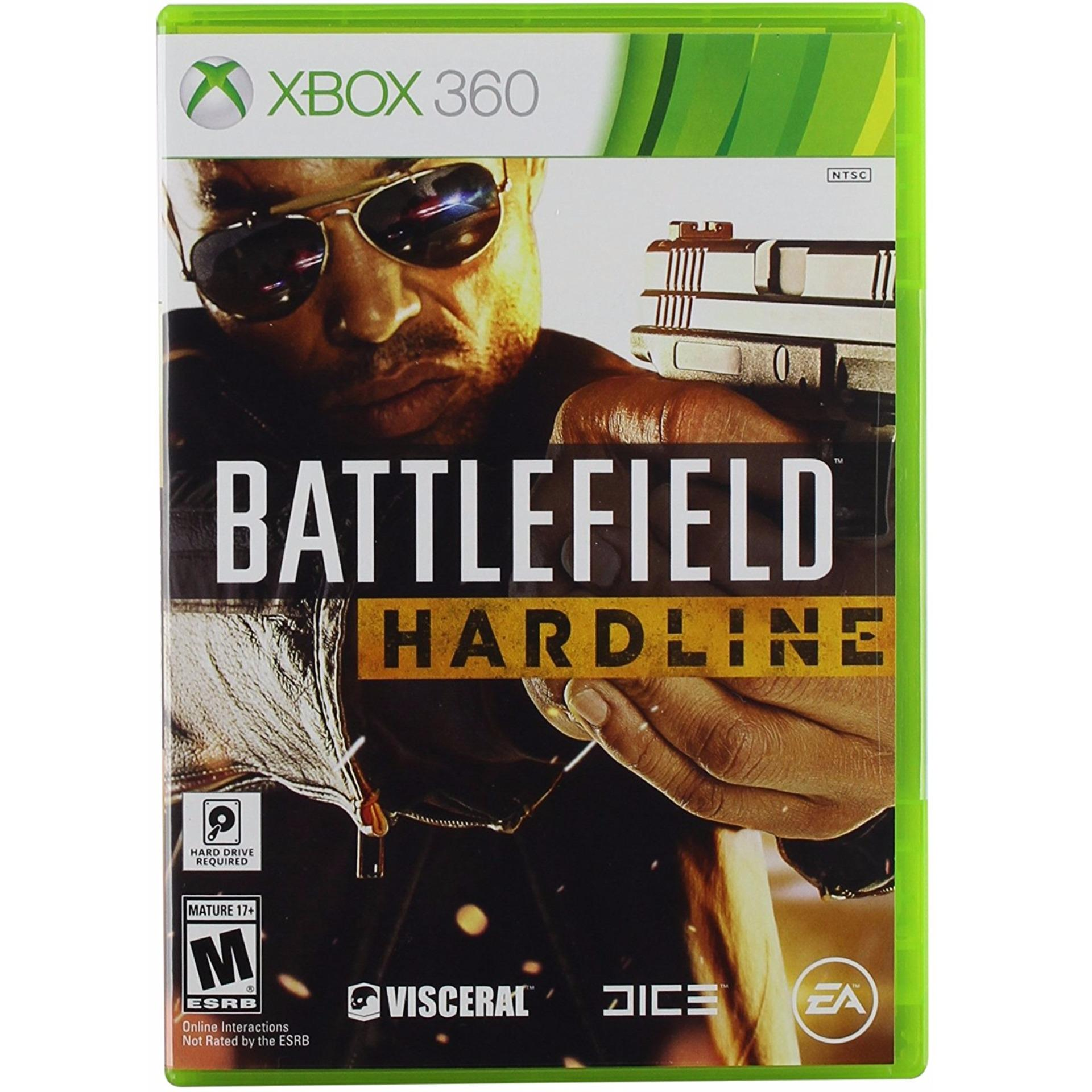 XBOX 360 BATTLEFIELD HARDLINE (NTSC)