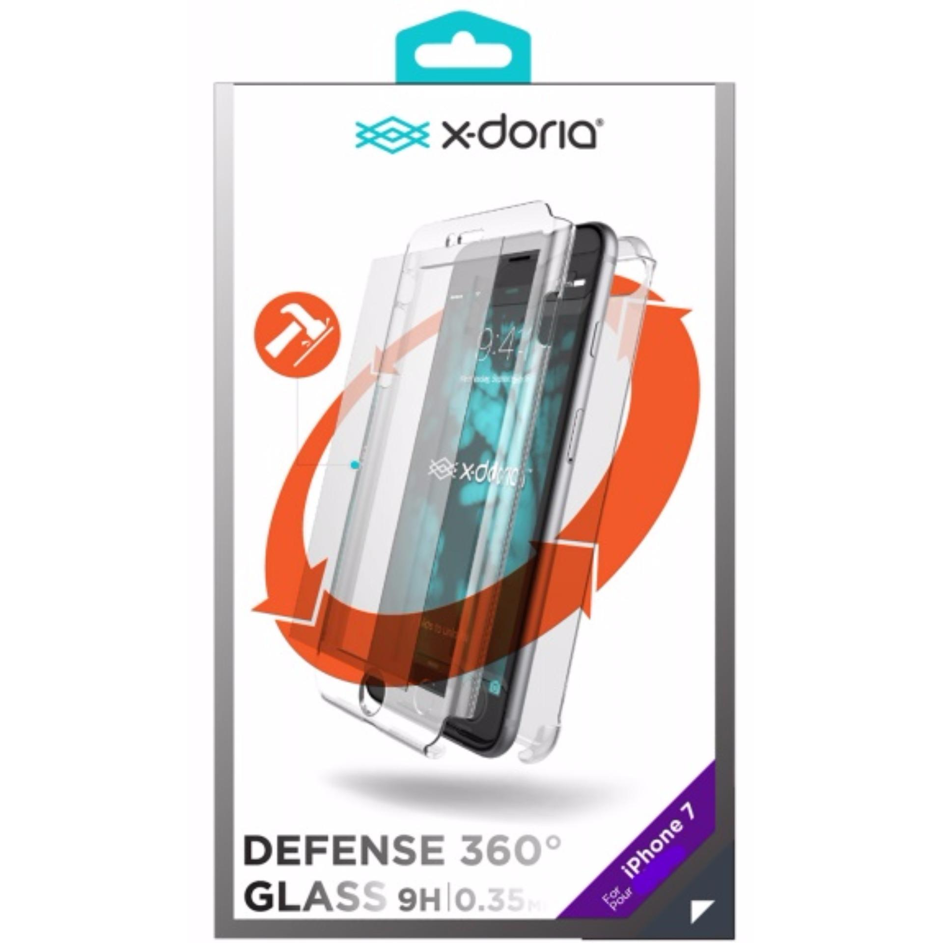 Xdoria iPhone8 / 7 Case Defense Glass 360