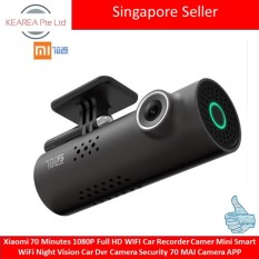 Xiaomi 70 Minutes 1080P Full HD WIFI Car Recorder Camer Mini Smart WiFi Night Vision Car Dvr Camera Security 70 MAI Camera APP