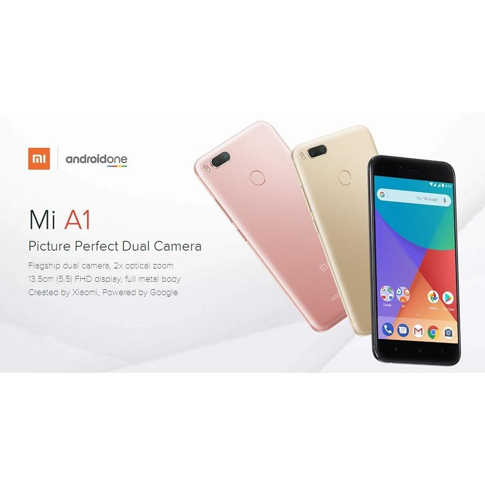 ✔Best Seller! Xiaomi Mi A1 Smartphone 64GB or 32GB - (Gold/Rose Gold)