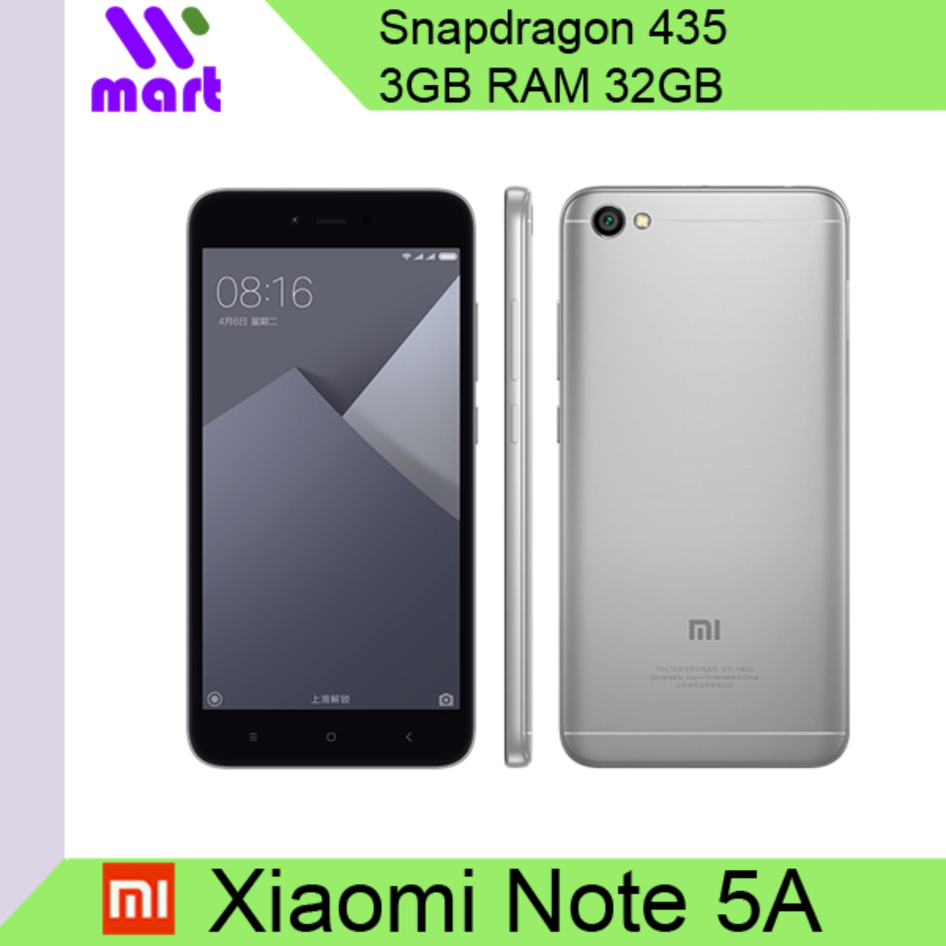 Xiaomi Redmi Note 5A 3GB RAM 32GB International ROM Export
