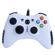 yiokmty Wired Game Controller for PC(Windows XP/7/8/10) Android Devices (White)