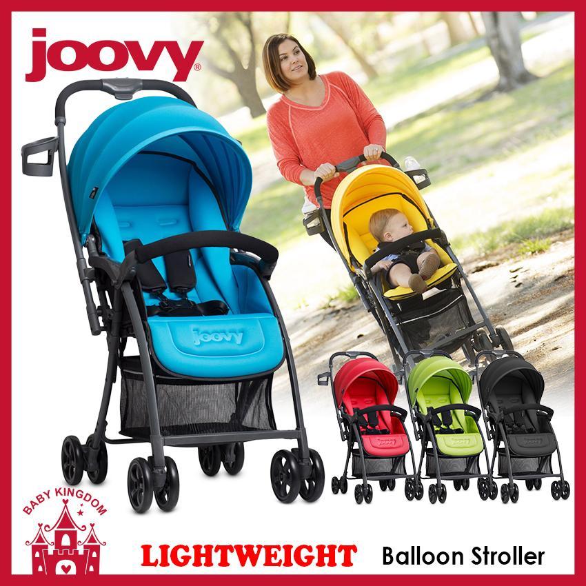 Joovy Balloon Lightweight Stroller (Black / Red / Green / Blue)