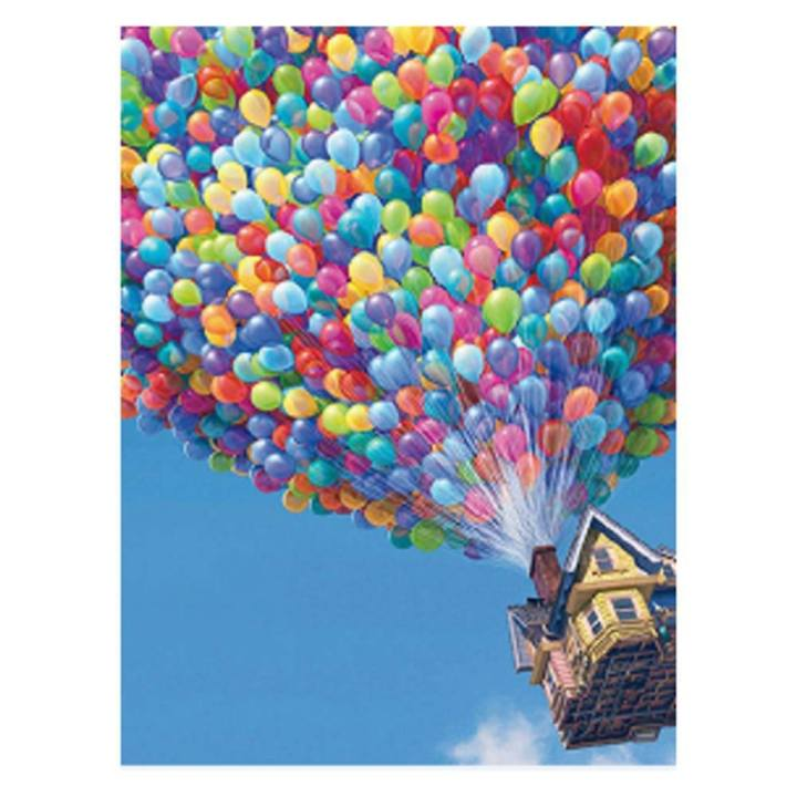 5D Balloon House Diamond Painting Embroidery DIY Cross Stitch Home Decor - intl