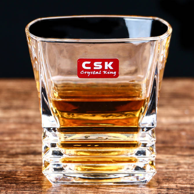 CSK crystal glass whiskey wine cup spirits cup