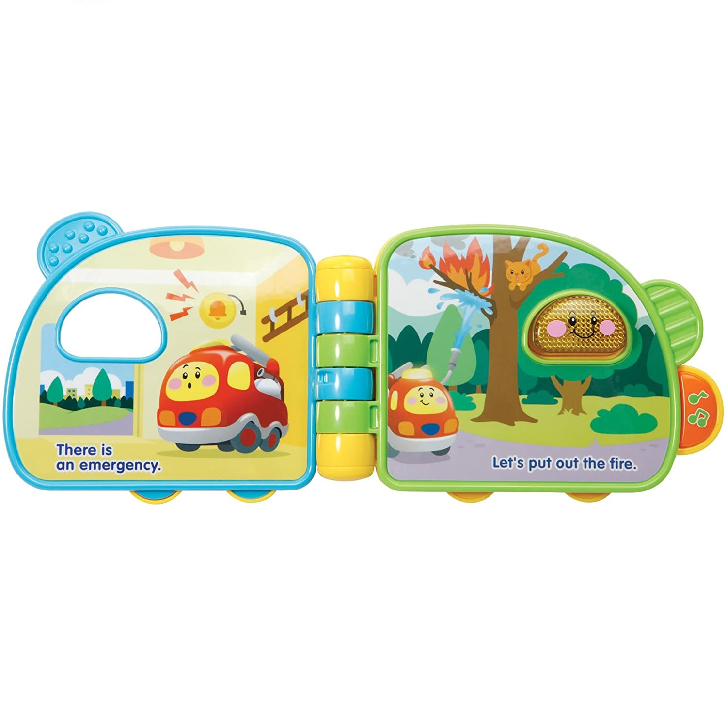 3-24 Months VTech Toot Toot Drivers Fire Engine Saves The Day Book