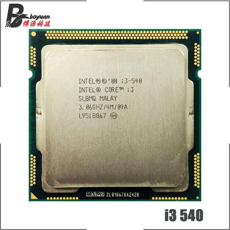 Intel Core i3-540 i3 540 3.0 GHz Dual-Core CPU Processor 4M 73W LGA 1156 ch Store