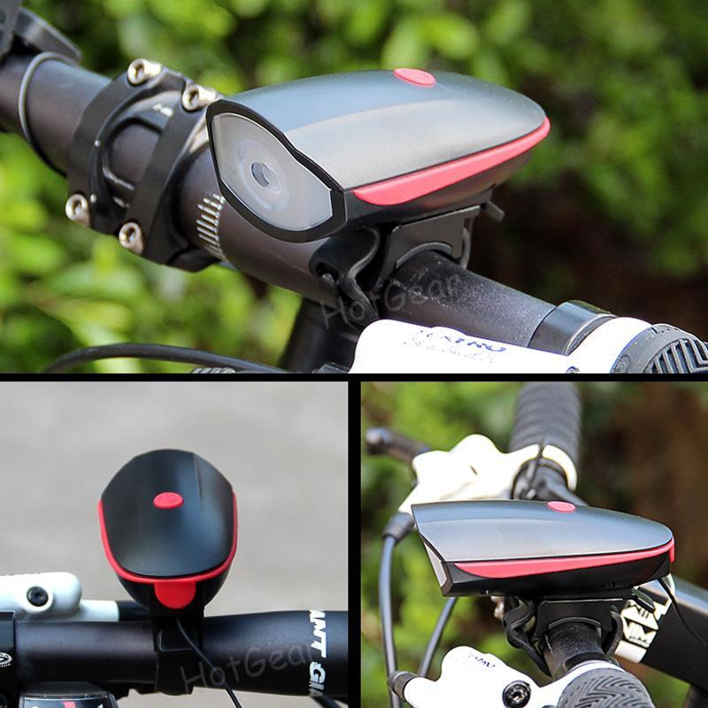 Bike 5 LED Front Light Headlight Ultra Bright Safety Lamp Bicycle Light 3 Mode
