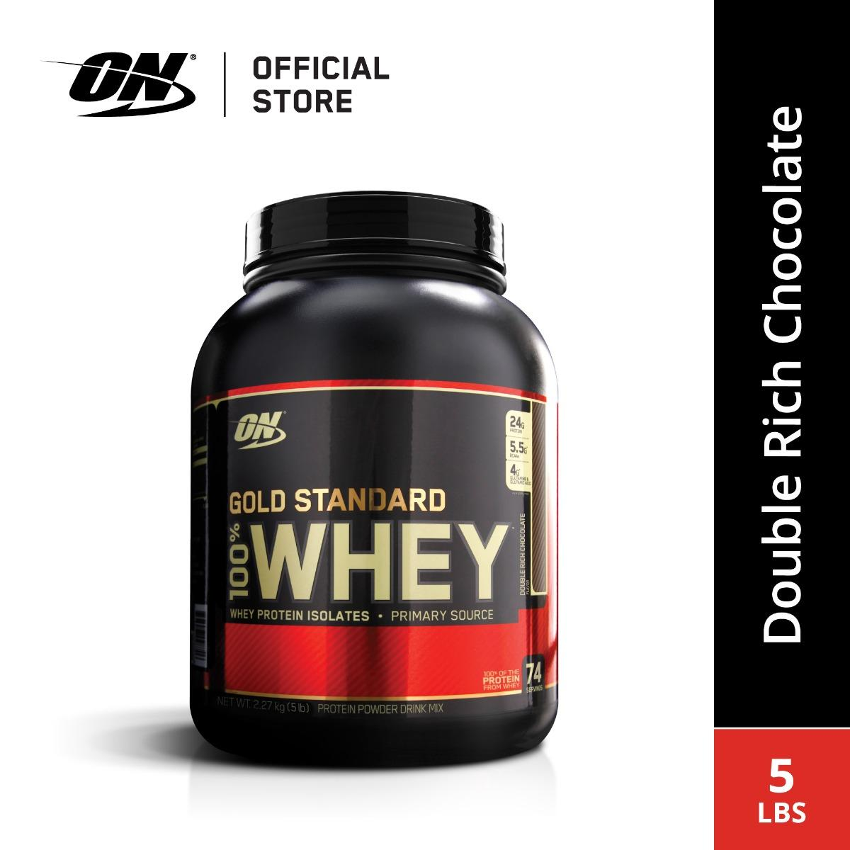 Optimum Nutrition Gold Standard Whey (5 lbs) - Double Rich Chocolate