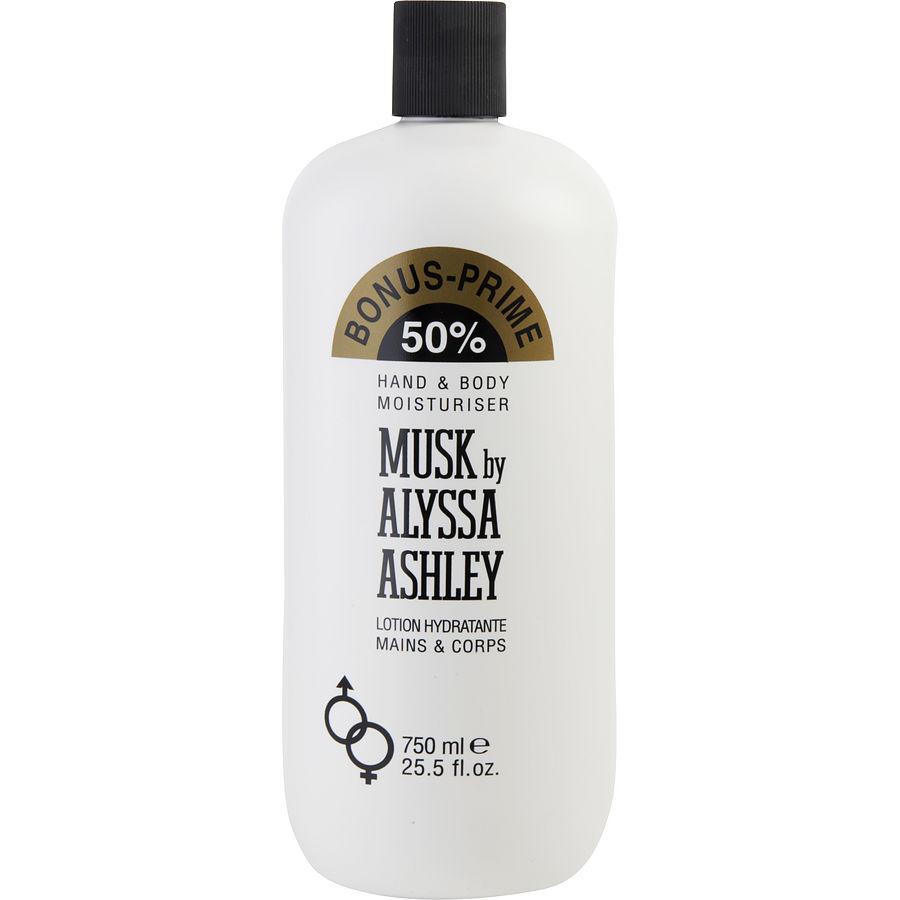 Musk By Alyssa Ashley Body Lotion 750 ml