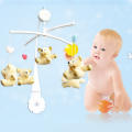 5Pcs DIY Hanging Baby Crib Mobile Bed Bell Toy Holder Arm Bracket