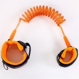 Anti-Lost Band Baby Kid Child Safety Harness Anti Lost Strap Wrist Leash Walking Orange - intl image on snachetto.com
