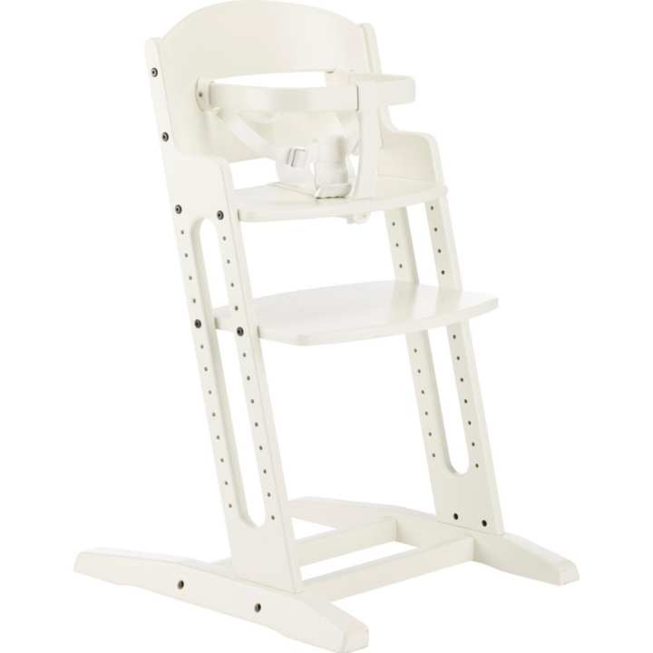 Baby Dan Dan Chair (White with light off white patches)