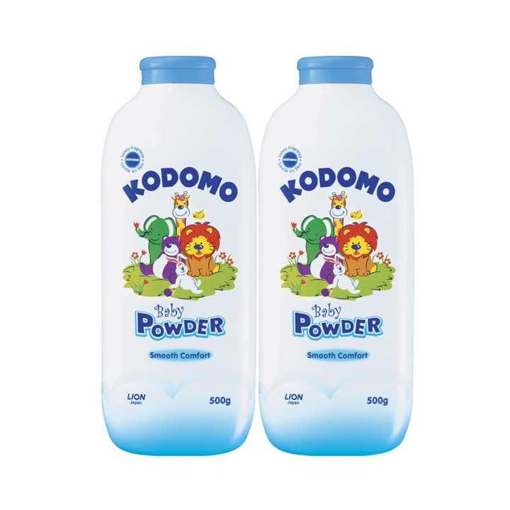 Kodomo Baby Powder 500g Twin Pack