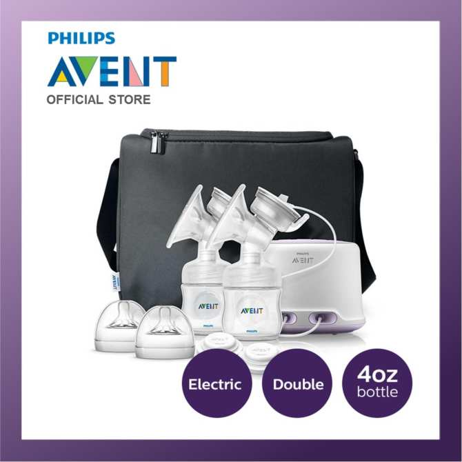 Philips Avent Twin Electric Breast Pump Bundle