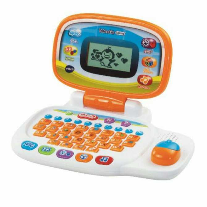Vtech Tote and Go Laptop (Orange)