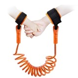 Womdee Toddlers Anti Lost Wrist Link, Babies Kids Safety Harnesses Leashes Walking Hand Belt Band Wristband Strap (Orange, 2.5 Metres) - intl image on snachetto.com