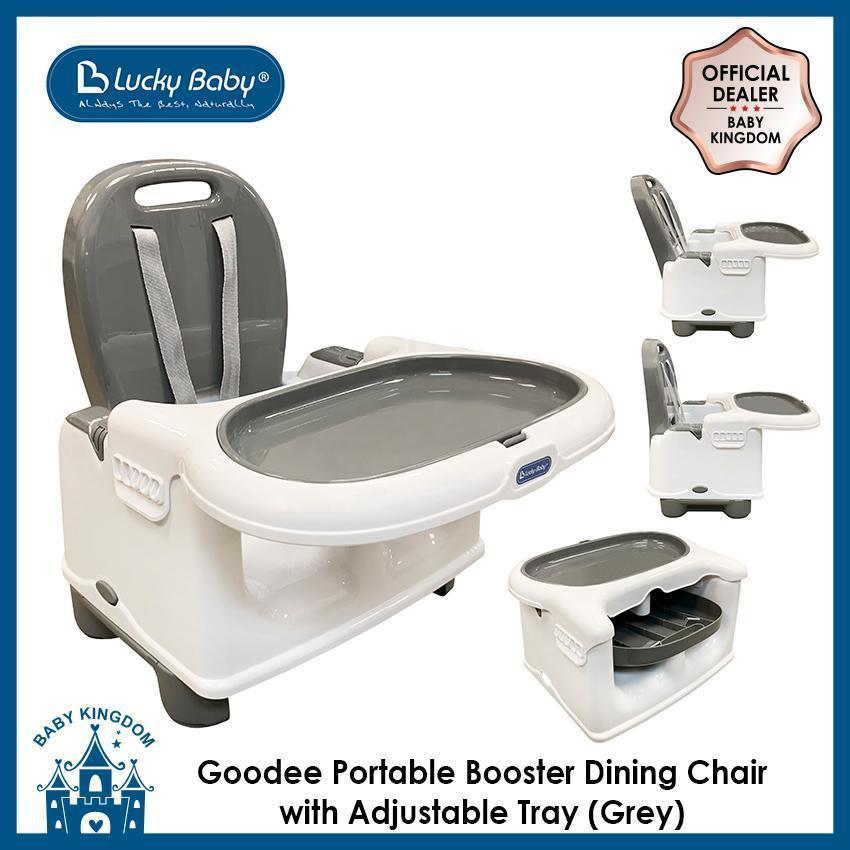 Lucky Baby Goodee Portable Booster Dining Chair with Adjustable Tray