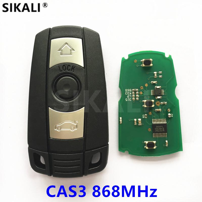 Car Remote Smart Key For Cas3 System 868mhz For 1/3/5/7 Series X5 X6 Z4