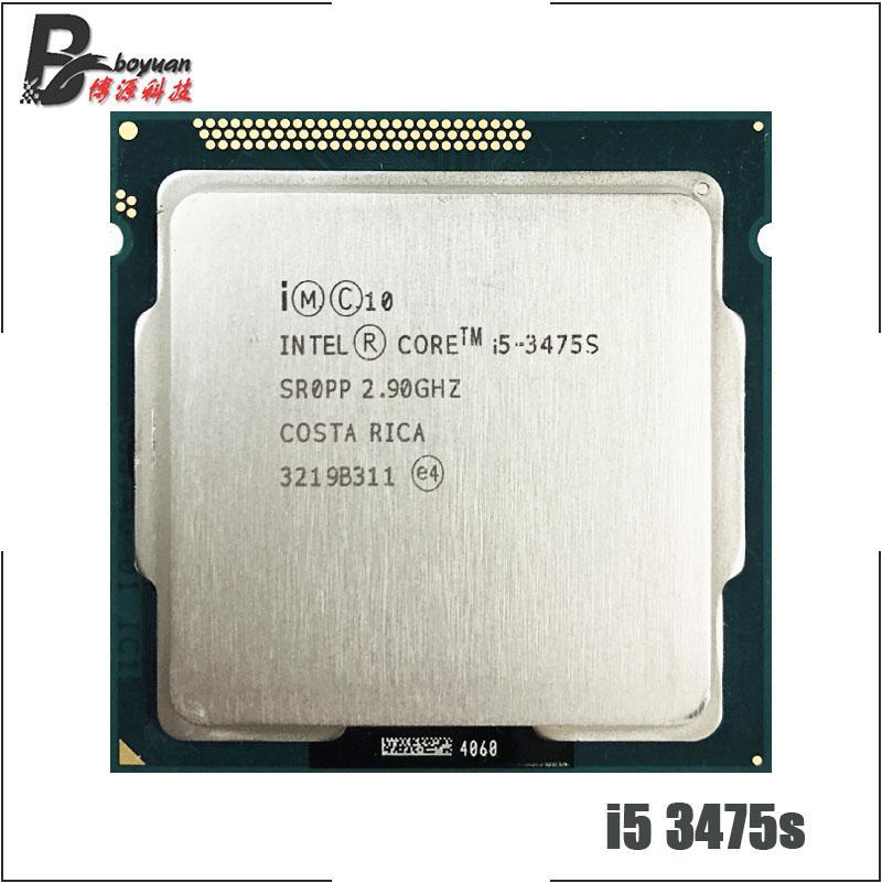 Intel Core i5-3475S i5 3475s 2.9 GHz Quad-Core Quad-Thread CPU Processor 65W LGA 1155 LLY Store