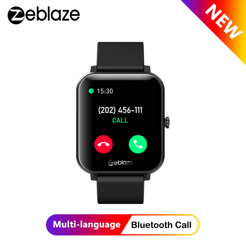Zeblaze GTS Smartwatch Bluetooth Calling Heart Rate Blood Pressure 60+  Watch Faces Receive/Make Calls Smart Watch for Android/iOS | Lazada PH