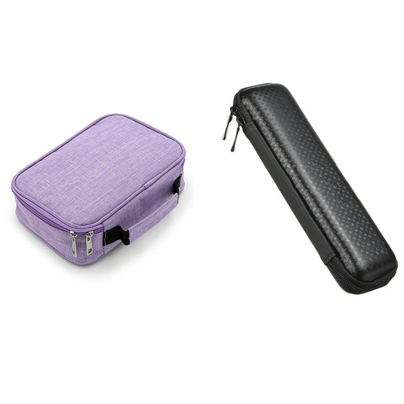 Retro Black Dot Pencil Pen Case Cosmetic Pouch Pocket & 72 Holder Pen Colored Pencil Case School Multi-Functional thumbnail