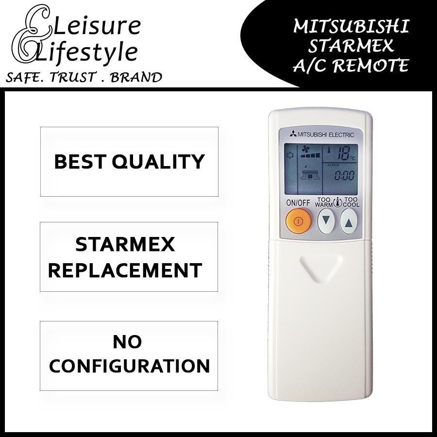 Mitsubishi Aircon Remote Control Mitsubishi Starmex Remote KM05E KM09G KH18A KM06E SG10 KD05D