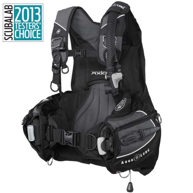 Buoyancy Compensator, Axiom, Black/Charcoal ML