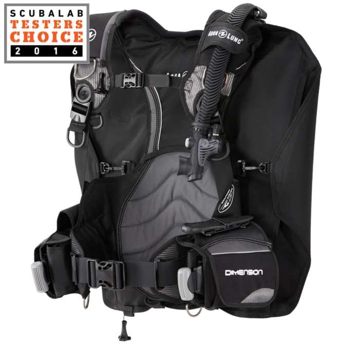 Buoyancy Compensator, Dimension, Black/Charcoal LG