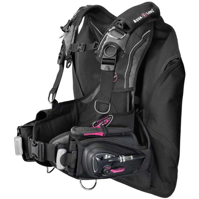 Buoyancy Compensator, Lotus i3, Pink MD