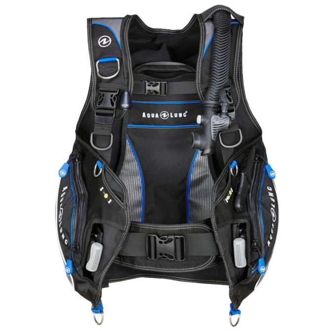 Buoyancy Compensator, Pro HD, Black/Blue M