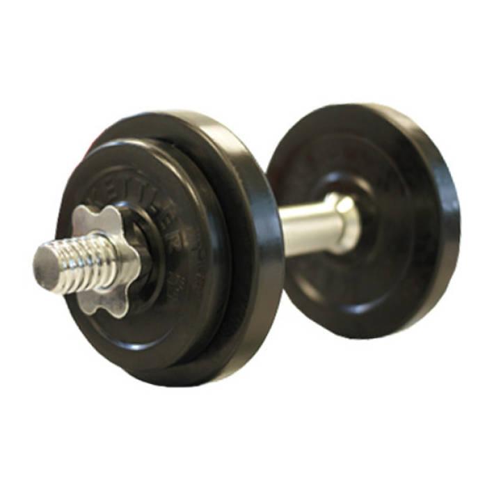 Lazada Dumbbell Set: Kettler: KAP0850 10kg Rubberized Dumbbell Set