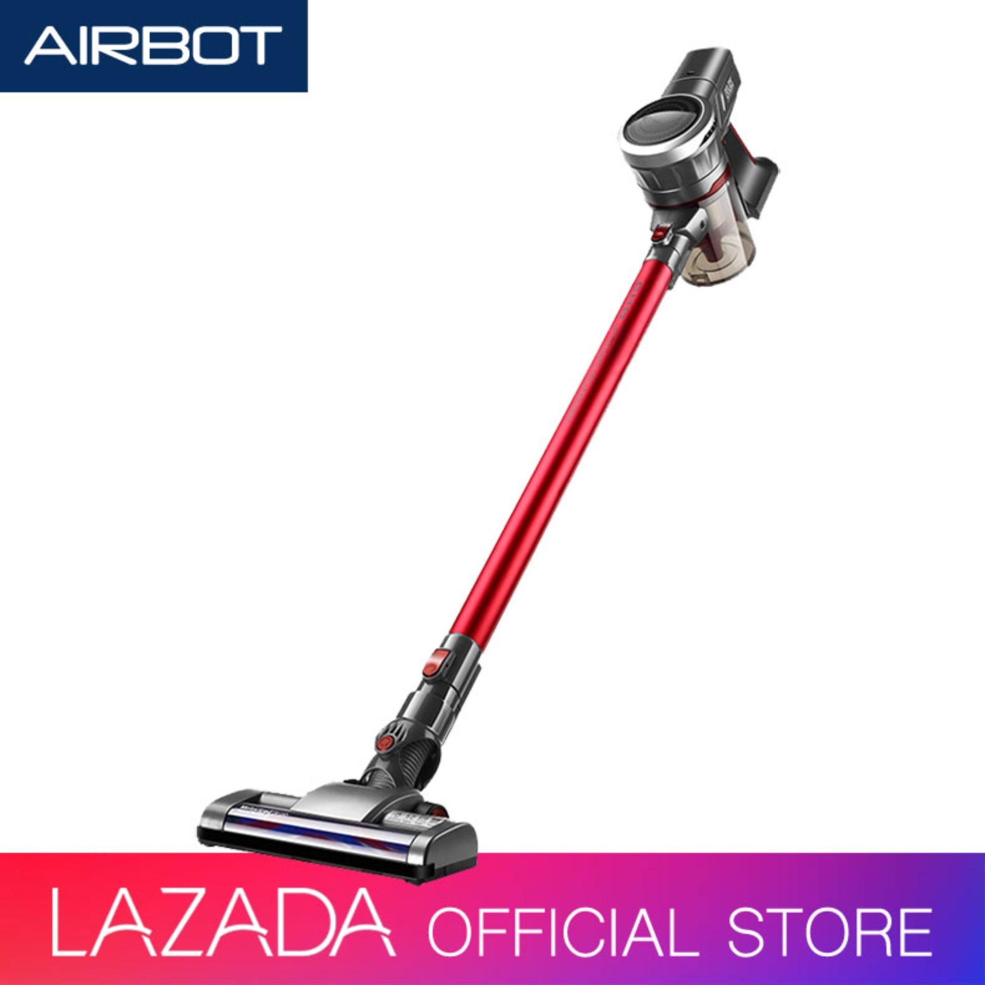 Airbot Supersonics Fluffy Cordless Vacuum Cleaner Stick Handheld Mode for Floor Car Carpet Sofa Mattress Curtain Keyboard