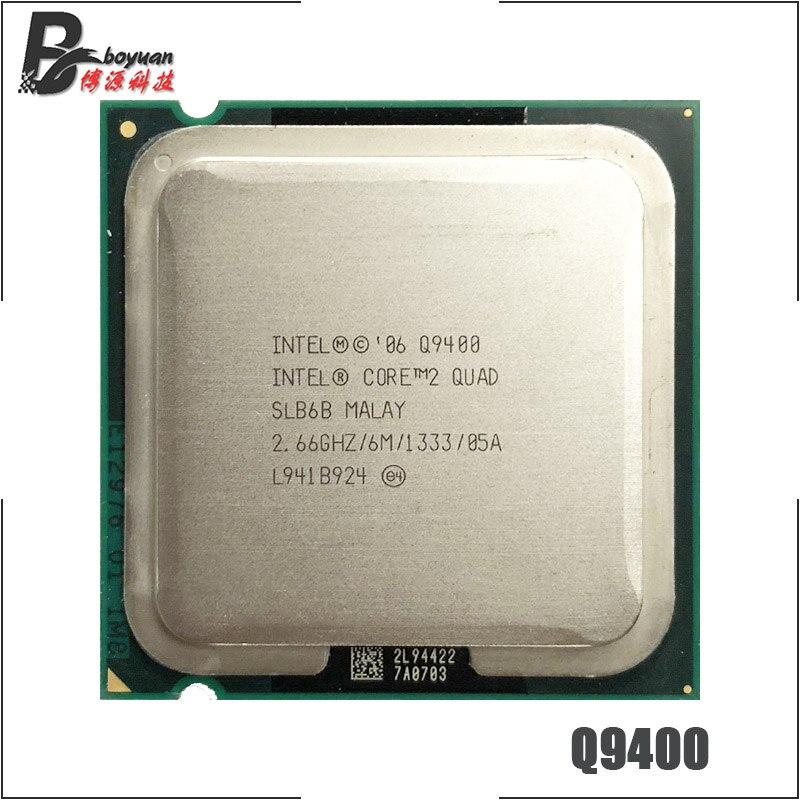 Intel Core 2 Quad Q9400 2.6 GHz Quad-Core CPU Processor 6M 95W 1333 LGA 775 ch Store
