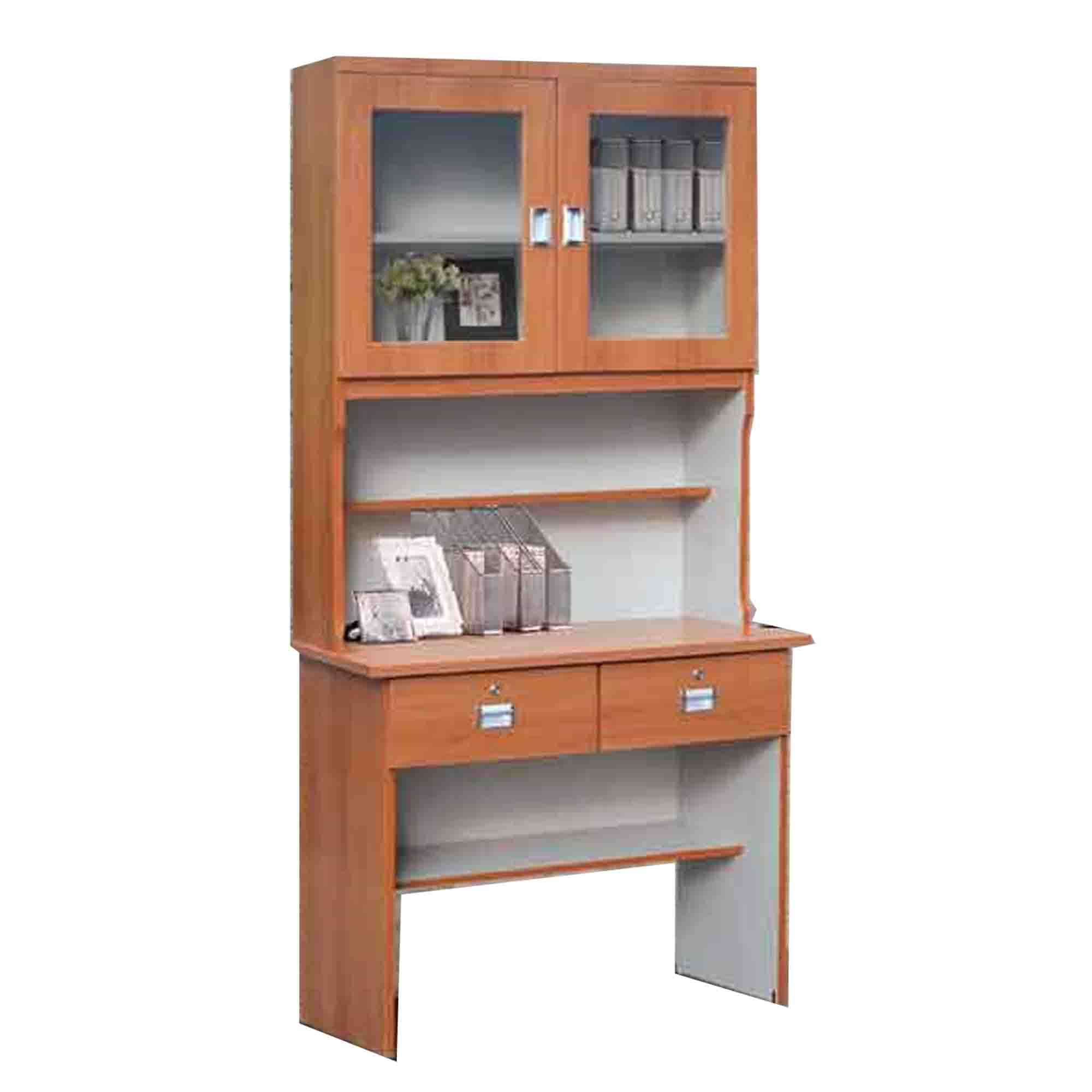 Study Table Bookshelf Office Table Computer Desk With And Without Top Shelf Free Delivery And Installation Lazada Singapore