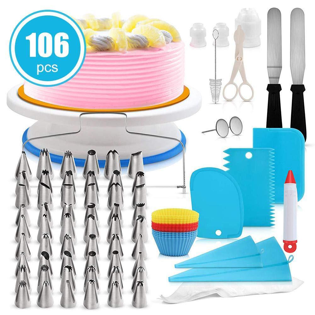 106-in-1 Cake Decorating kits