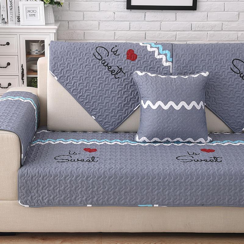 Sô Pha Tựa Lưng Khăn Lót Bốn Mùa Vải Nghệ Thuật Chống Trượt Phủ Toàn Bộ Sofa Vải Trên Đệm Đa Năng Đệm Sofa Bao Gồm
