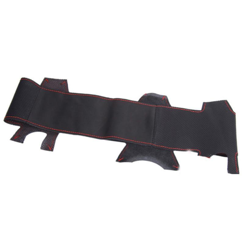 Car Accessories Sew Genuine Leather Car Steering Wheel Cover for Chevrolet Cruze Hatchback Sedan 2009-2014