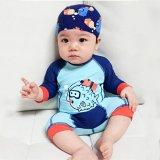 Rash Guard Swimwear UV Protection Kids Baby W//Swim Cap-1-5 Years 7-Mi One Piece Swimsuits Boys