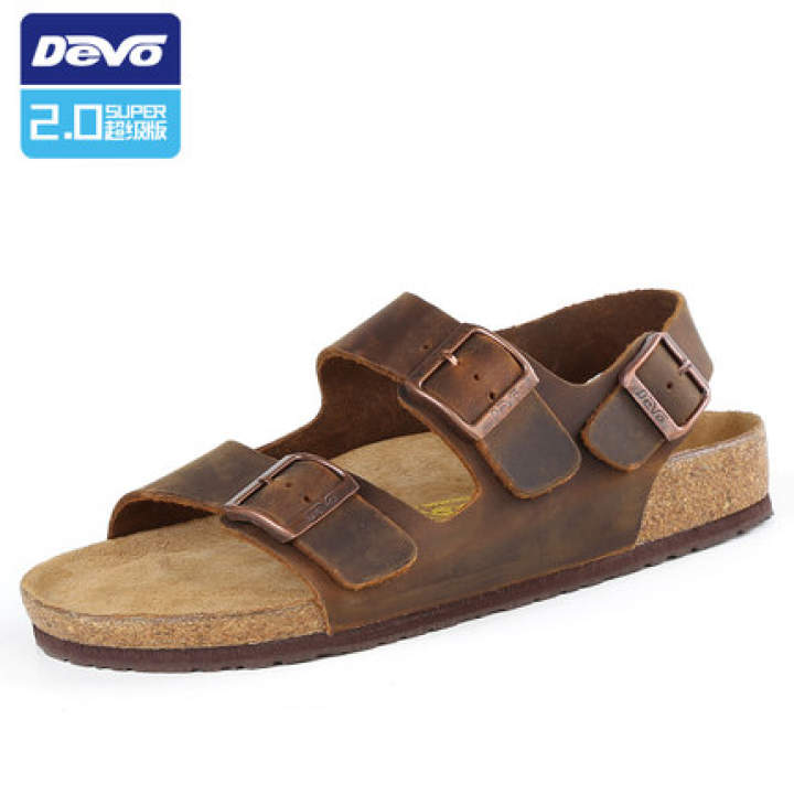 2017 cuir orteil sur croûton cuir pleine fleur pantoufles féminin féminin féminin b & amp; r les chaussures sandales des mocassins. 0cfcb1