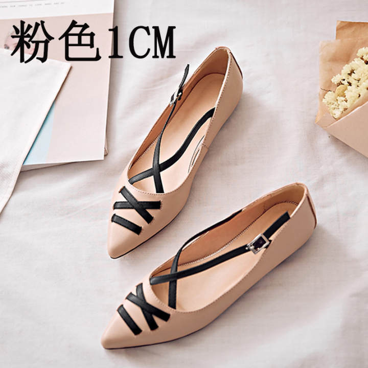 Gentlemen/Ladies~Casual New style flat shallow mouth shoes shoes shoes (Pink) ~On Sale f71b66