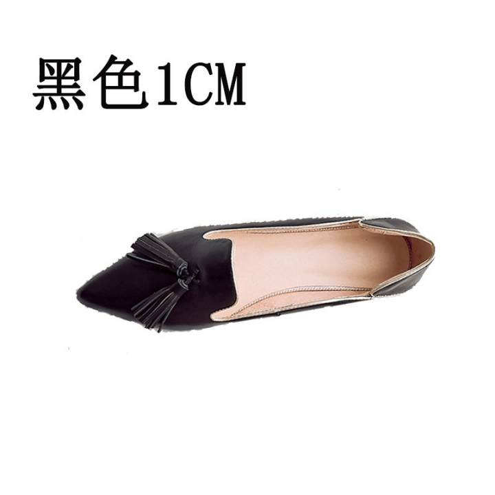 Man's/Woman's Man's/Woman's Man's/Woman's - College style New style small leather shoes (Black)  -  Attractive Look 669919