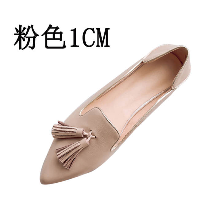 Man's/Woman's~College style New New New style small leather shoes (Pink) ~ Fashion versatile shoes 433284