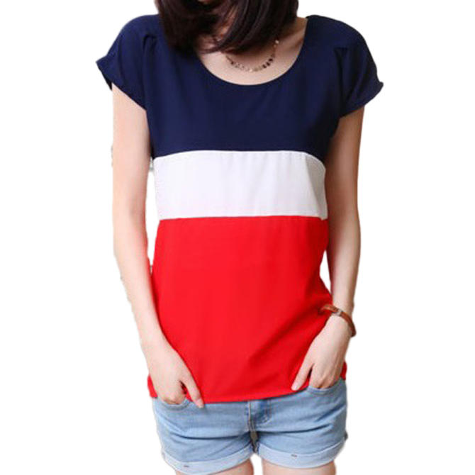 Fancyqube Chiffon T-shirt Red