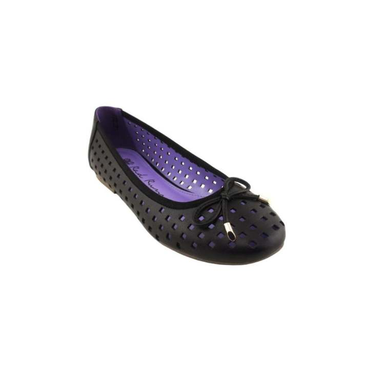 Gentlemen/Ladies - RAD RUSSEL Hole-punched Hole-punched Hole-punched Flats Black  -  Good goods 6ddee6