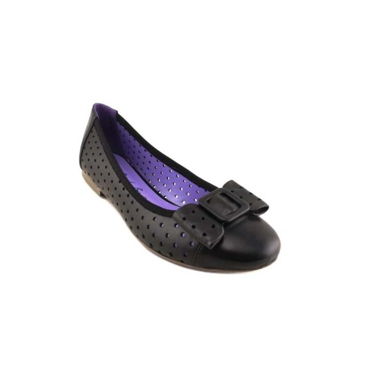 Men's/Women's - RAD RAD RAD RUSSEL Hole-punched Flats Black  - Buy now 4ee445