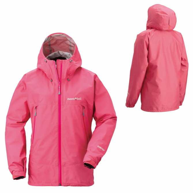 MontBell Rain Dancer Jacket Women Como (Pink)
