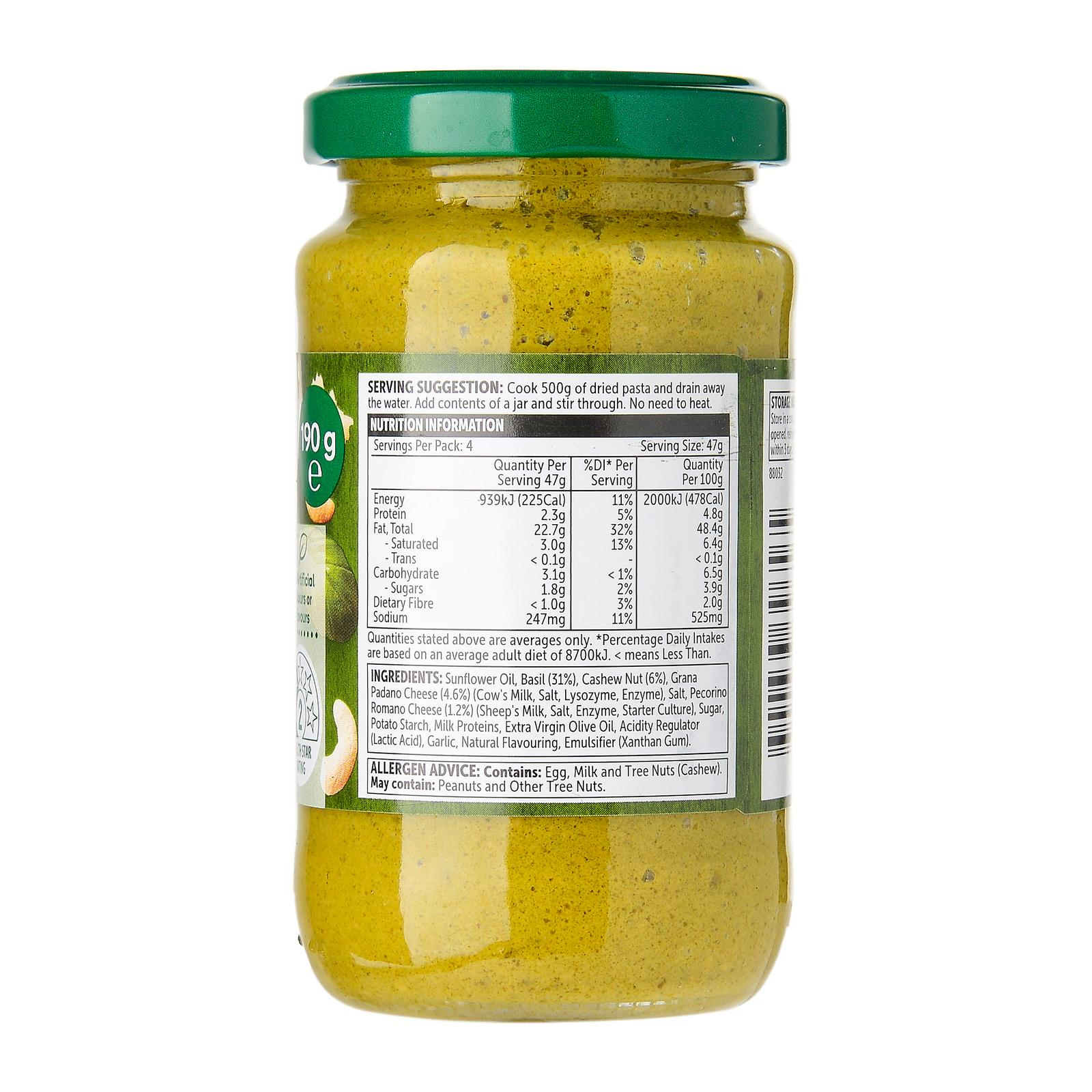 Woolworths Pesto Basil 190g Buy Sell Online Pasta Sauce With Cheap Price Lazada Singapore