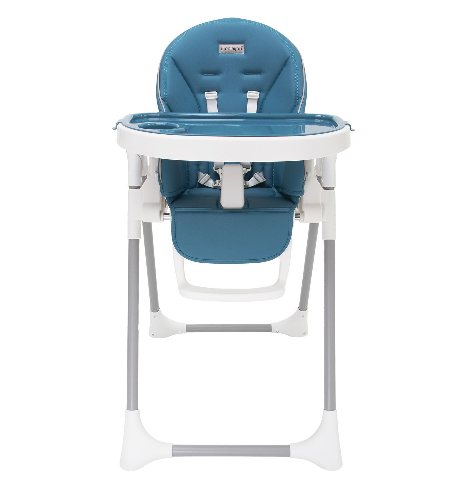 Bonbijou Regan High Chair (Peacock Teal)